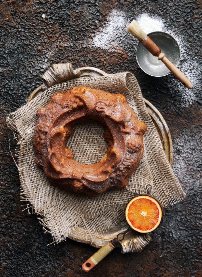 Clemetine-Vanila Bean Loaf Cake