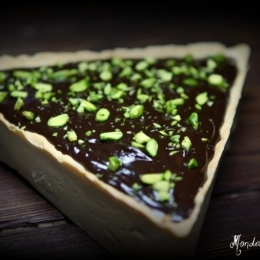Chocolate and raspberry tart (Michel Roux)/шоколадный тарт с малиной