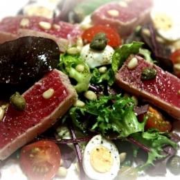 салат с тунцом (быстрый)