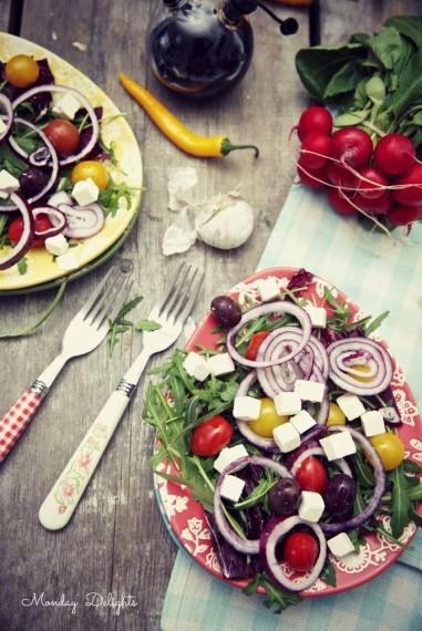 А вы любите греческий салат?  ;)