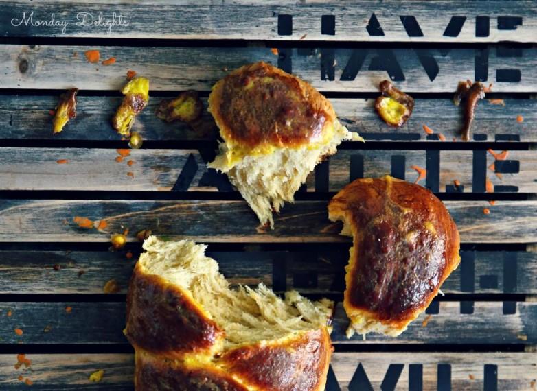 ЦУРЕКИ - греческий пасхальный хлеб