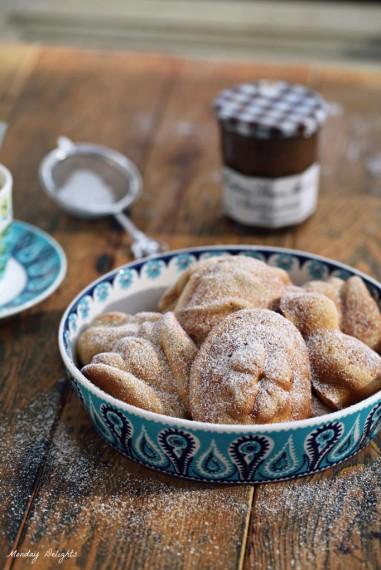 ароматные кексы к завтраку