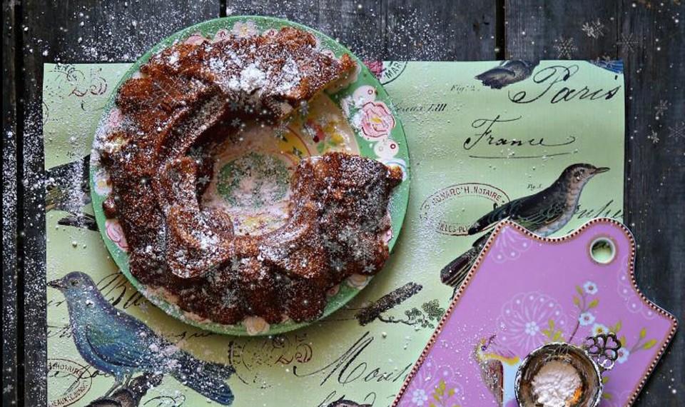 Кекс с мандаринами и мягким сыром от Марты Стюарт + таблица перевода из американских чашек в наши граммы и мл