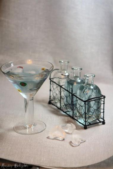 мартини с лавандой