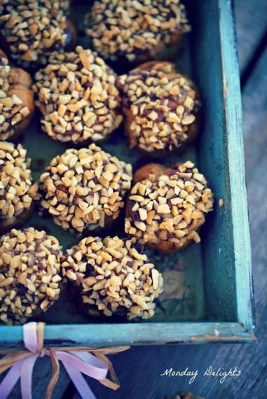 Заварные орешки со сгущенкой из детства - редактирую
