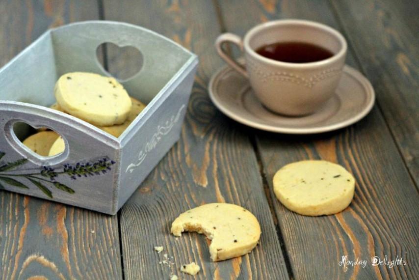 Печенье с лавандой (соленое)