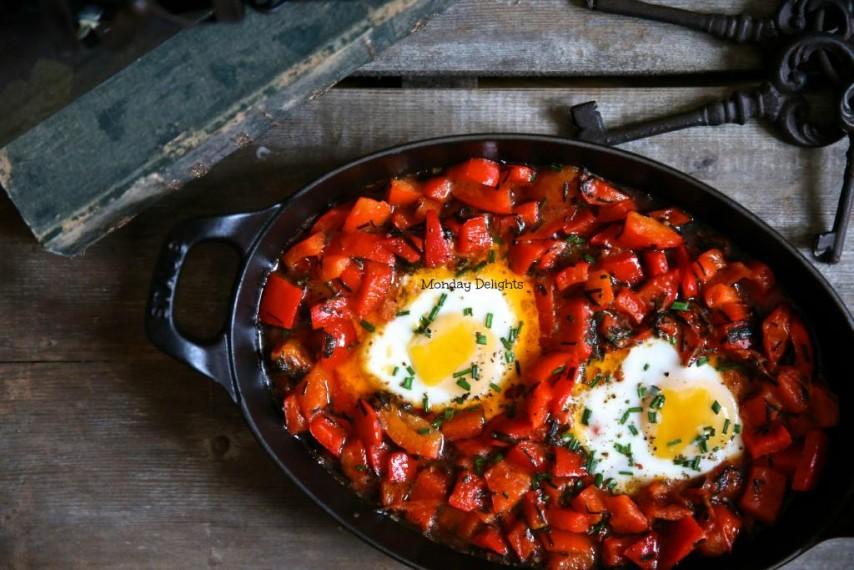 Прекрасный завтрак - Shakshuka / Шакшука из книги Йотама Оттоленги Jerusalem
