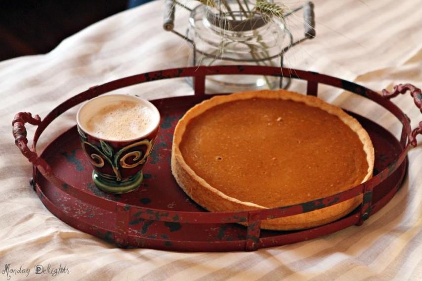 Pumpkin pie / тыквенный пирог
