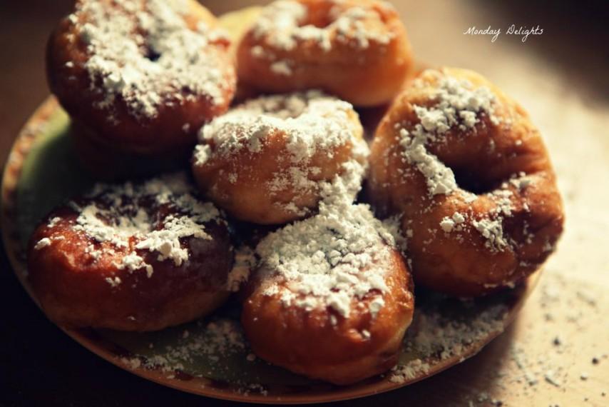 Пончики из риккоты или Castagnole con ricotta