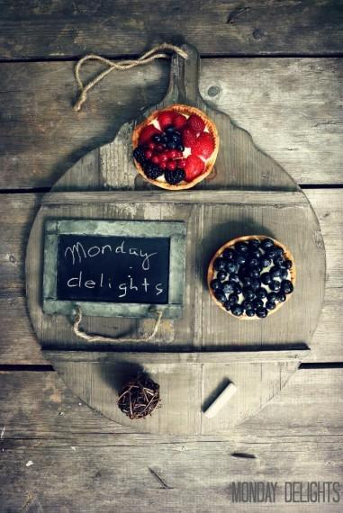 Тарталетки с франжипаном и ягодами