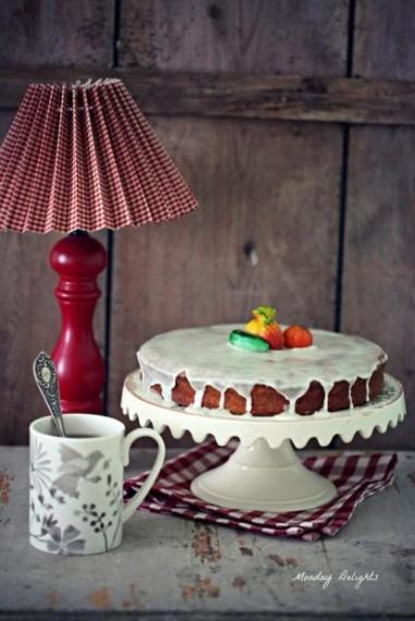 Тестовый десерт (Морковный пирог). Тест кеша